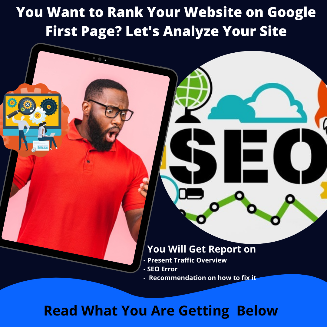 I Will analyze your Site to Increase Your Ranking on Google