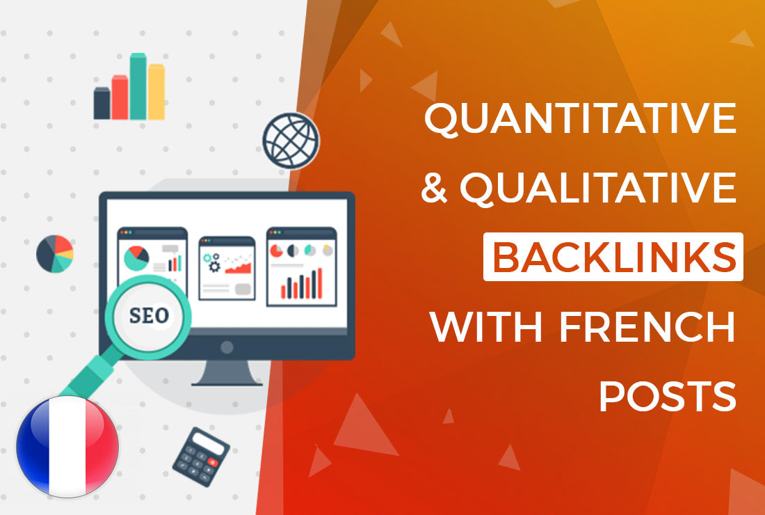 I will improve your SEO with high quality french backlinks