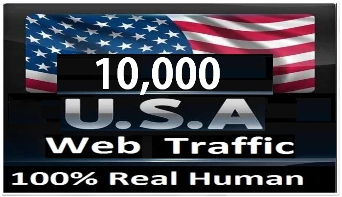 Real 10000 Real Human Traffic From USA