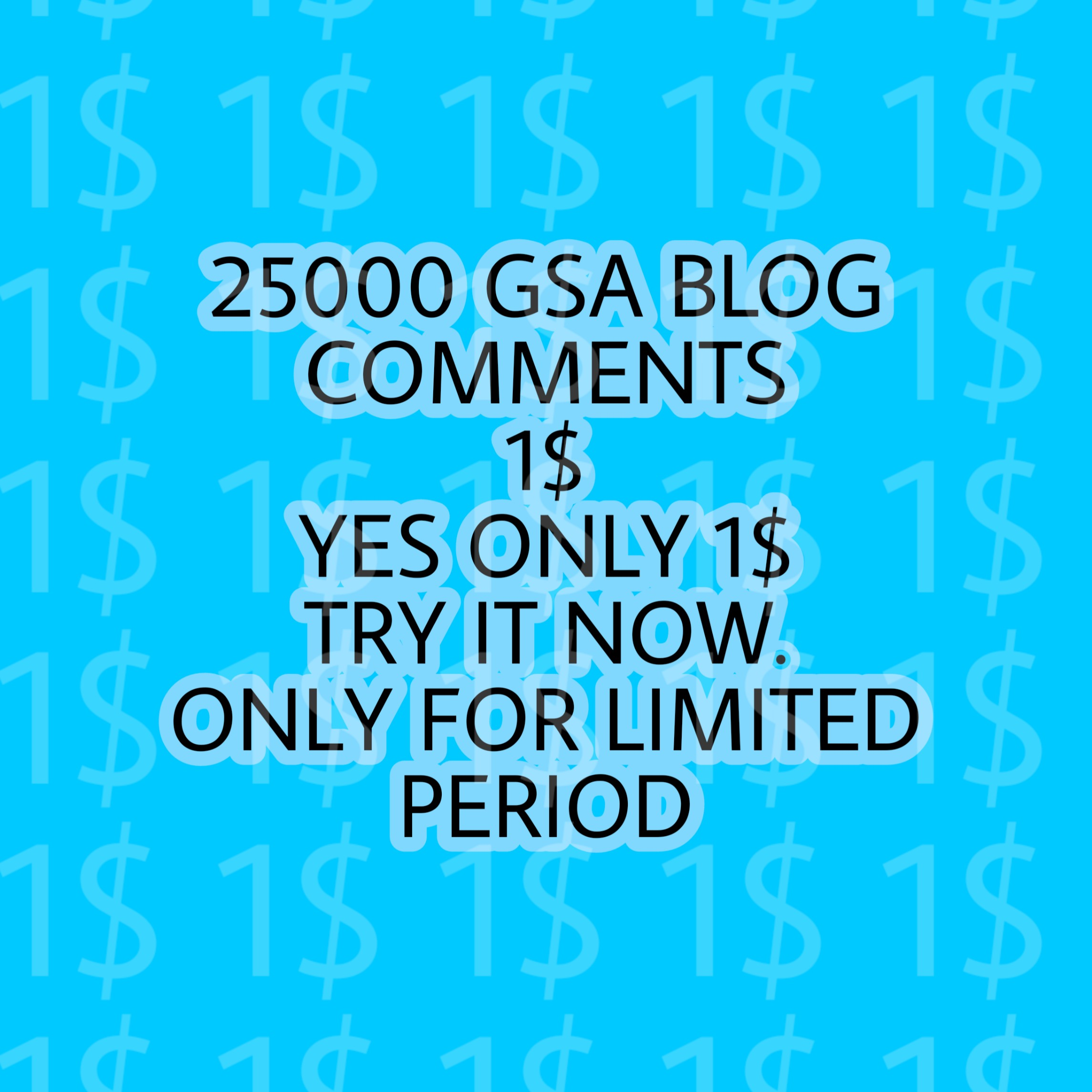 I will build 25000 GSA BLOG comments for Google seo increase rankings