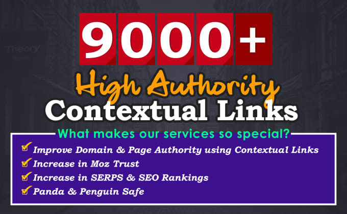 I will create 3000 contextual backlinks from high PR and high pa da sites