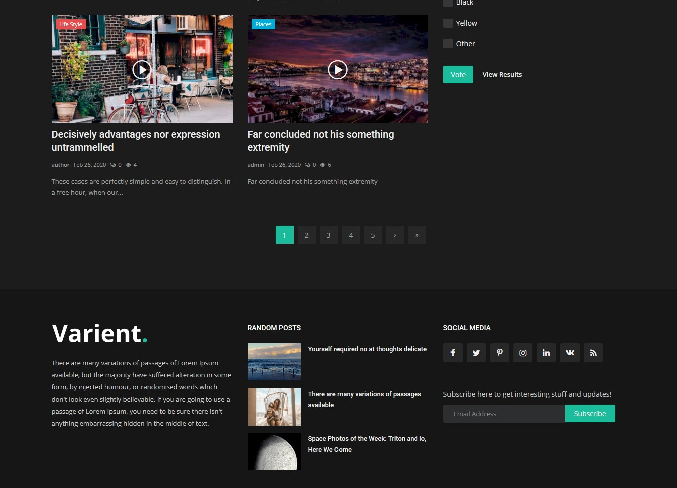 News & Magazine Portal Dynamic website with Admin Panel