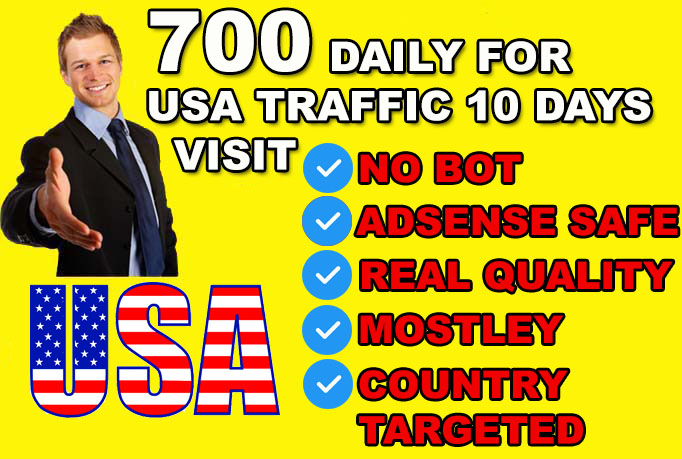 usa country target, adsense safe website traffic visitors