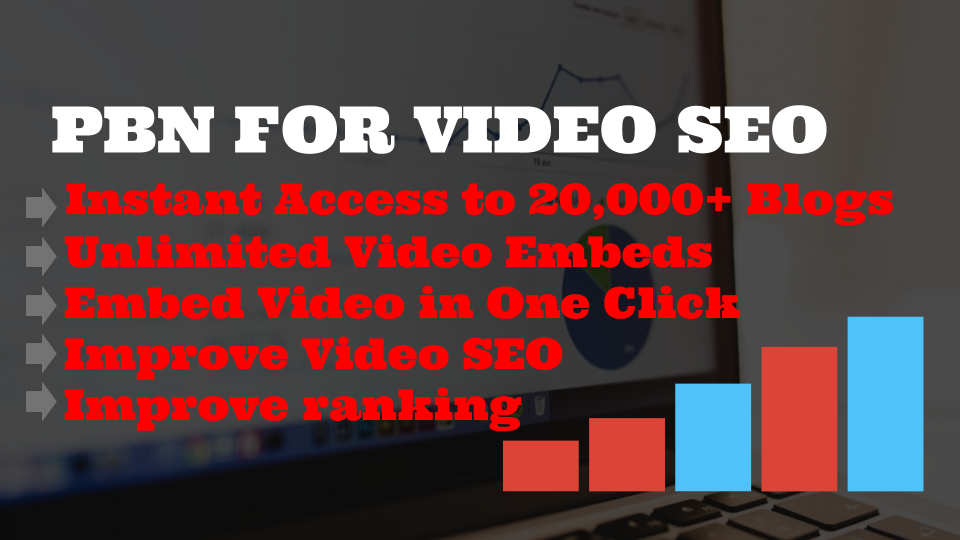 PBN Pro - EARN MONEY BY RESELLING YOUTUBE VIDEO EMBEDS to over 20,000+ wordpress blogs