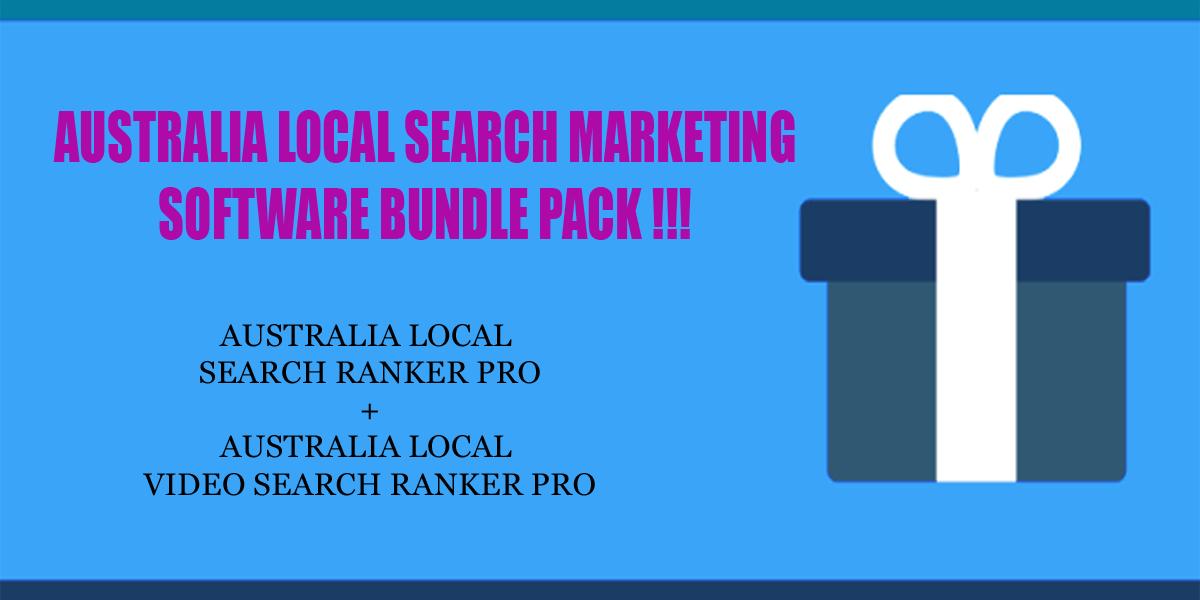 Australia local search ranker software bundle pack