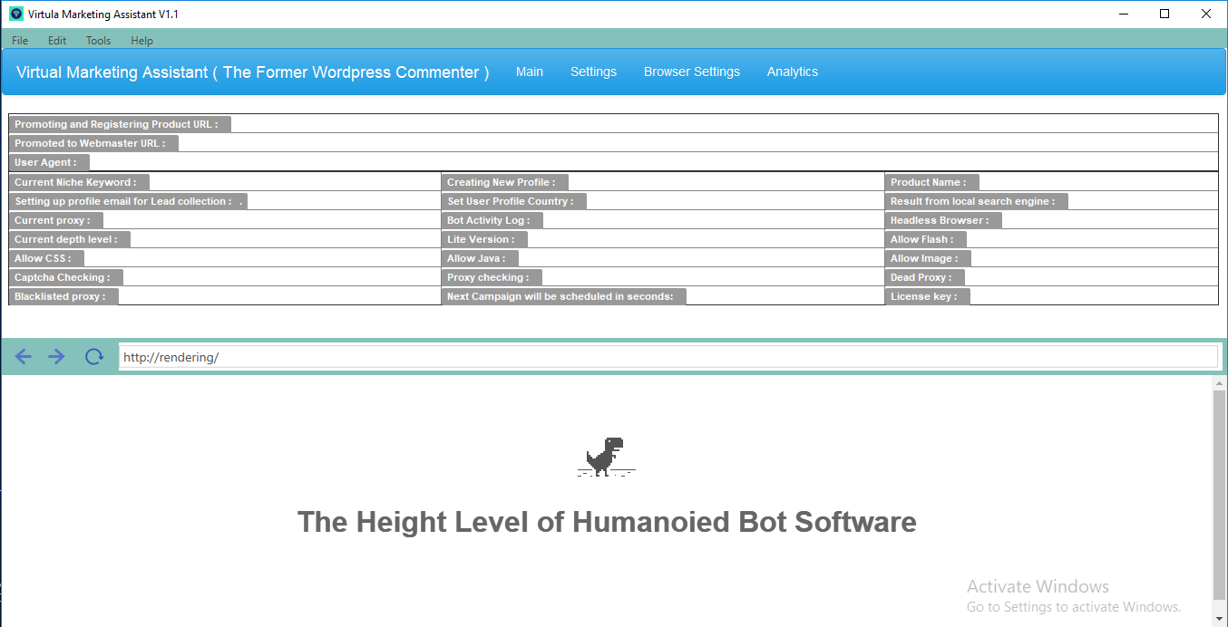 Virtual Marketing Assistant Robotic Software - The Former WordPress commenter
