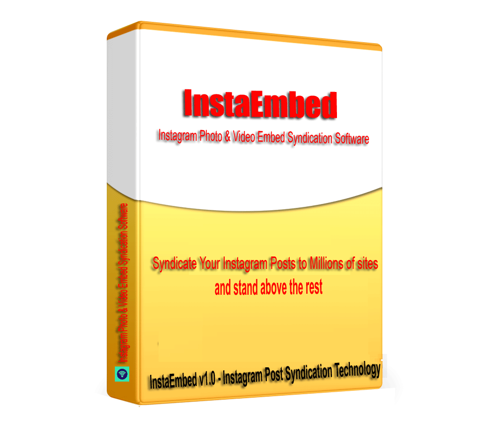InstaEmbed - Instagram Posts & Video Embed Syndication Software V1.0.1