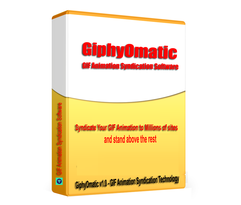 GiphyOmatic - GIF Animation Syndication Software