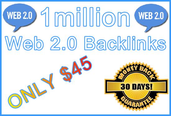 1million SEO Ultra-Safe GSA SER Web 2.0 Submitted Backlinks