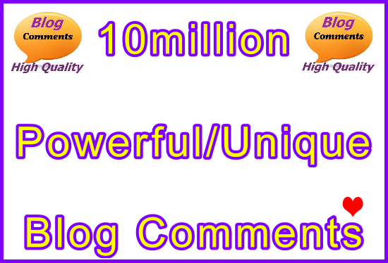 10million Tiered SEO Ultra-Safe Blog Comments