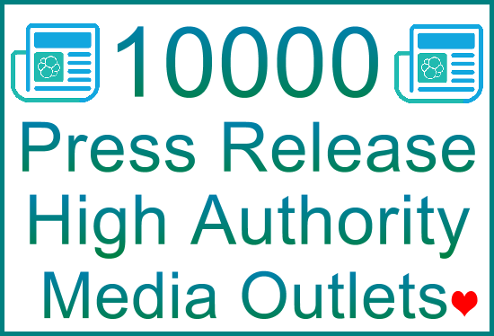 Publish Your Press Release Article to 10.000 HQ Top Media Outlets