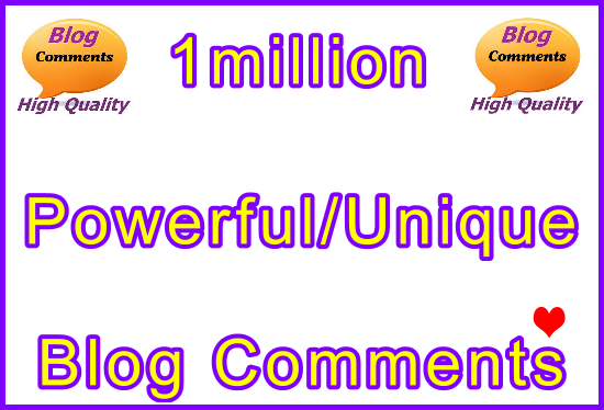 1million SEO Ultra-Safe Tiered Blog Comments