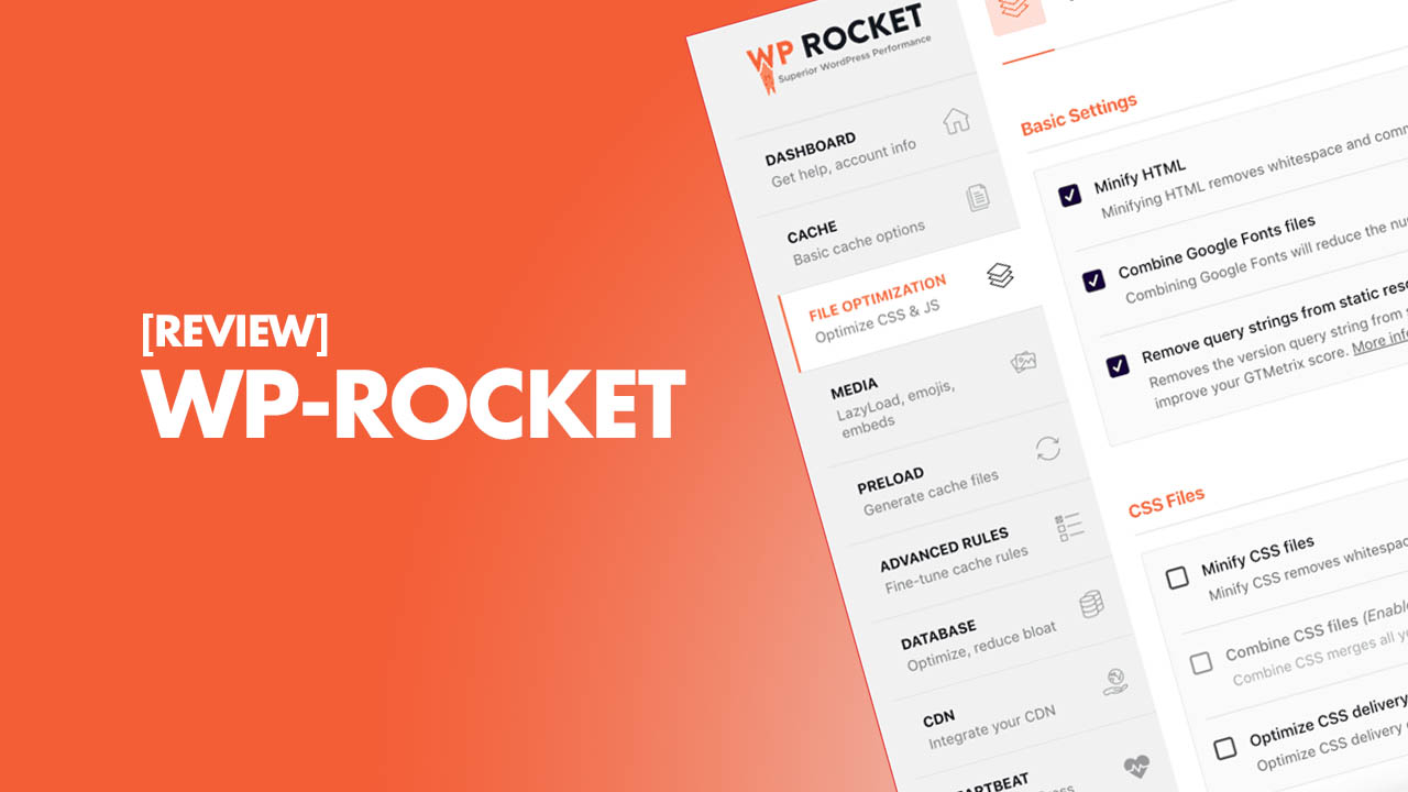 Premium WP ROCKET plugin for WordPress Load Fast and Increase Your Website Speed