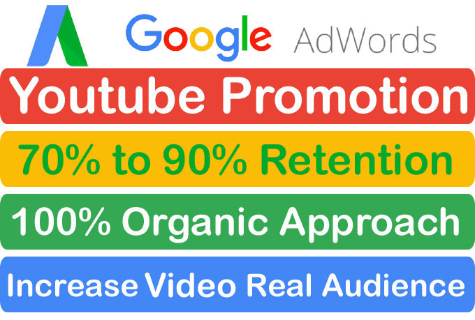 Instant Start YouTube Video Promotion and Marketing Via Google Adwords