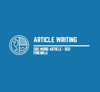 500 Words Article Writing - SEO Friendly