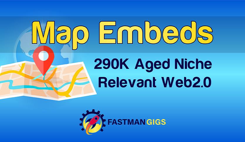 230 Google Maps embeds and Backlinks - Local SEO