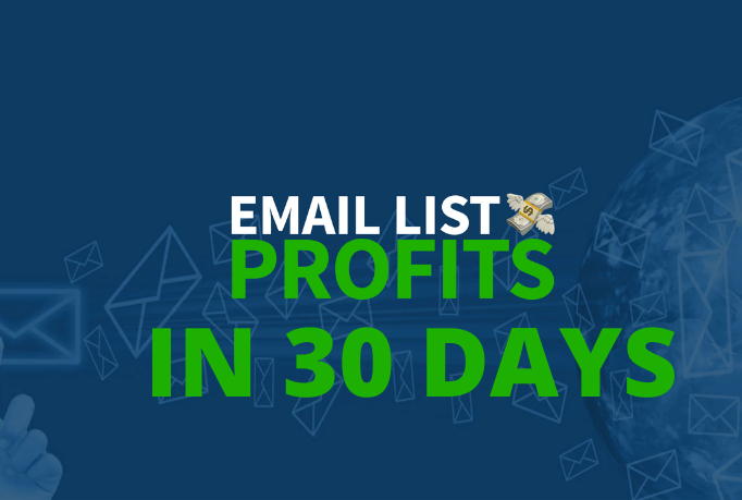 I Will Show how to Generate Massive Profits & Sales With Your Own Responsive Email List in 30 days