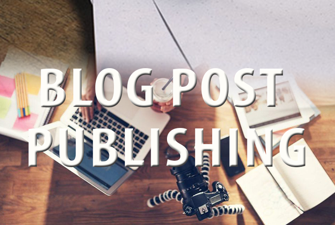 I will publish your blog post on your site