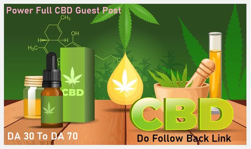I Will Do Guest Post On CBD And Marijuana Blog
