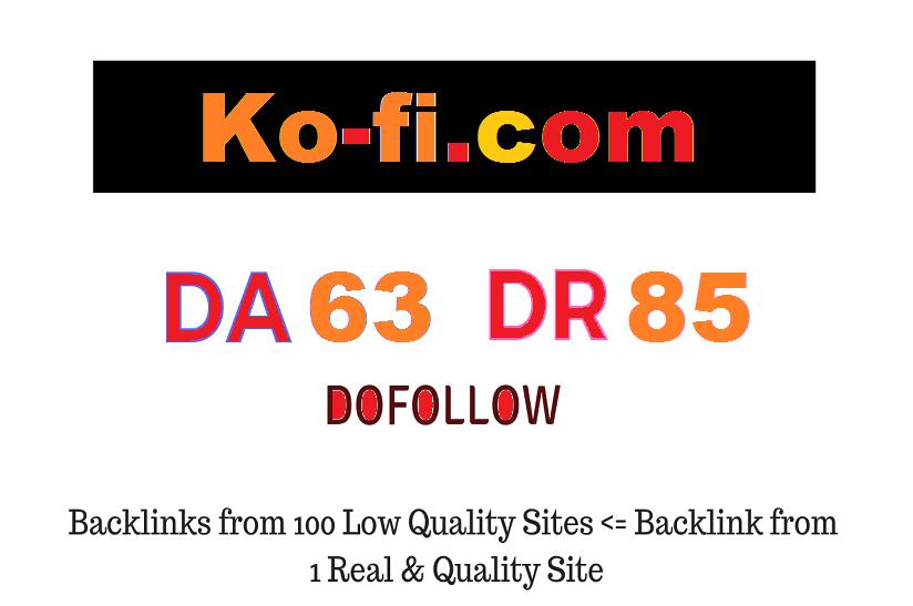 Guest Post on Ko-fi. com DA63 DR85