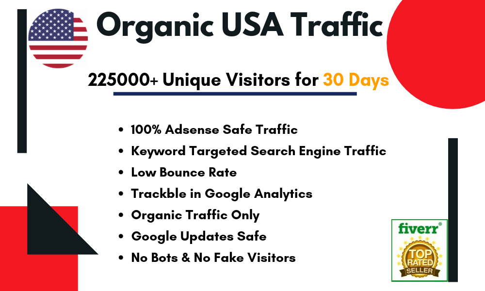 Drive keyword targeted USA traffic from search engine