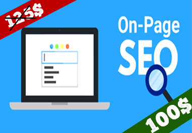 Do on page SEO optimizations For Your Website
