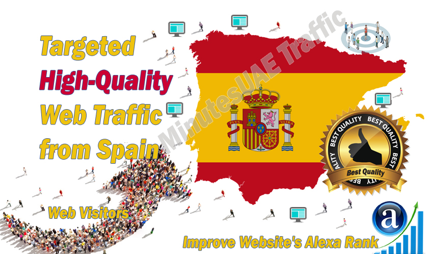 Spanish web visitors real targeted high-quality web traffic from Spain