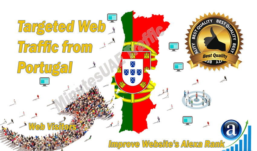 Portuguese web visitors real targeted high-quality web traffic from Portugal
