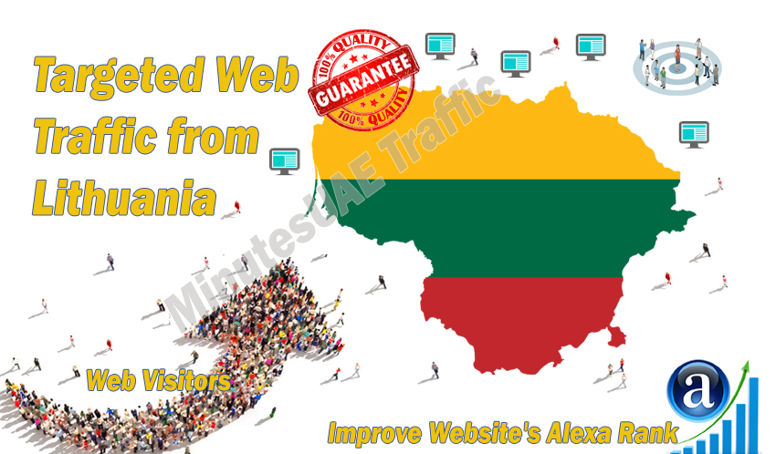 Lithuanian web visitors real targeted Organic web traffic from Lithuania