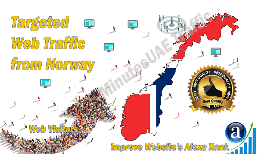 Norwegian web visitors real targeted high-quality web traffic from Norway