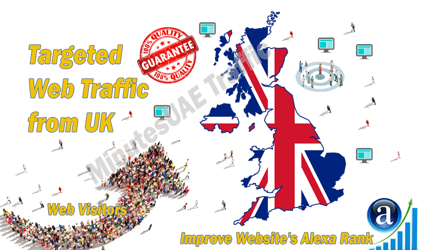 British web visitors real targeted Organic web traffi...