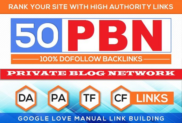 Build 50+ HomePage PBN Backlinks All Dofollow Quality Links