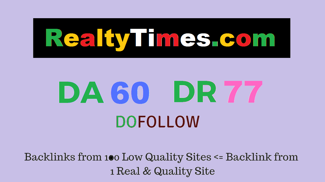 Publish Guest Post on Realtytimes. com