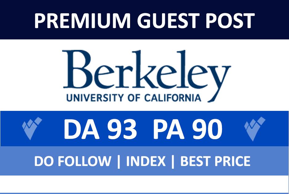 Publish a guest p ost on Berkeley,  Berkeley. edu - DA 93