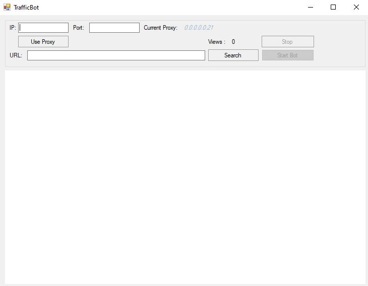 Proxy Web Browser Traffic Bot Software