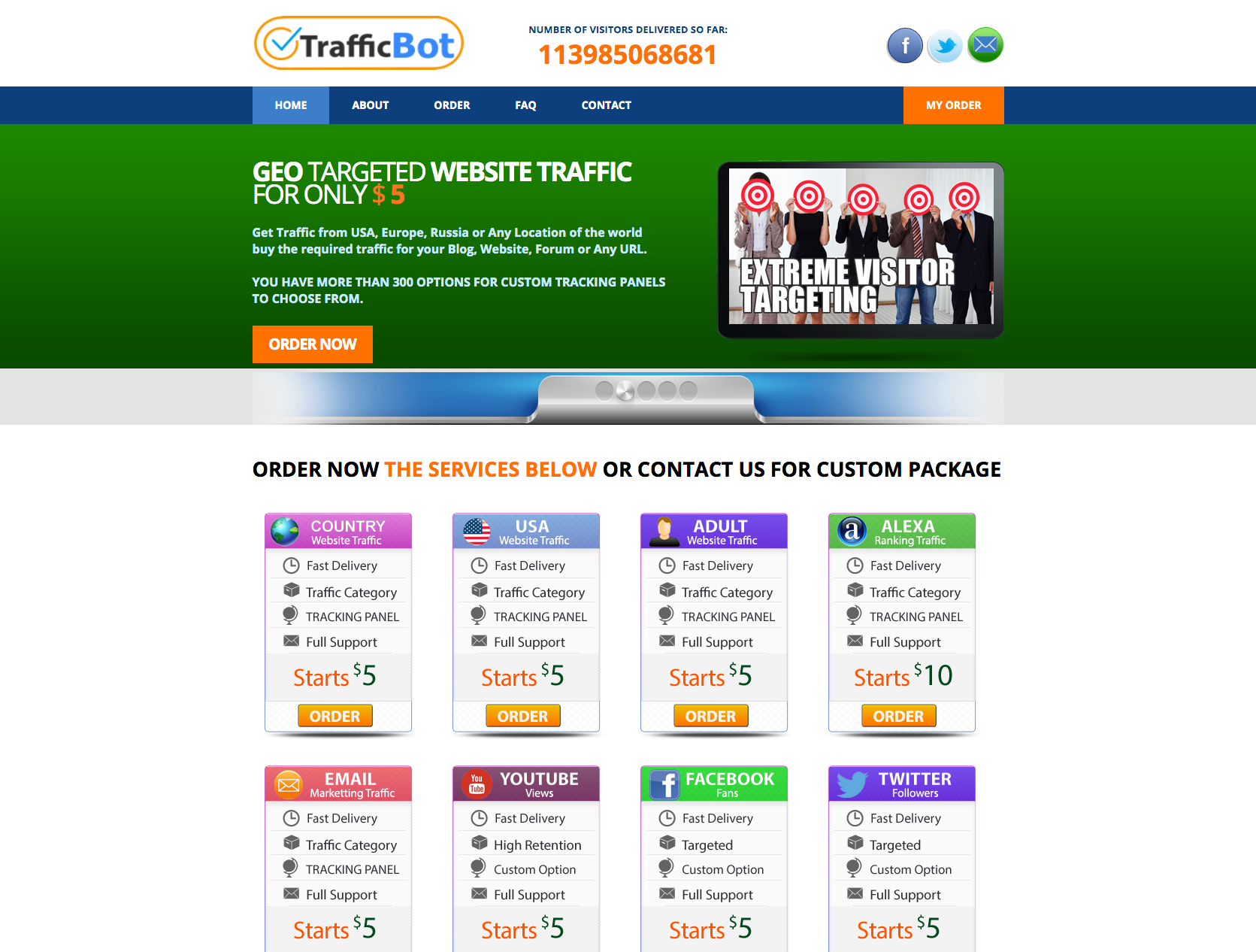 Premium Traffic Reseller Business Website For Sale Profitable & Easy To Manage