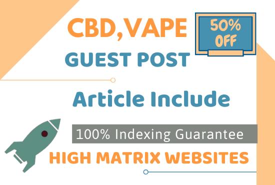 5 High matrics cbd vape backlinks
