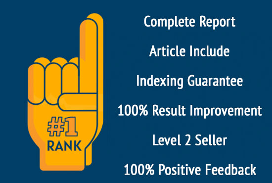 I will Make 50 Backlinks on DA 50+ sites to Rank on 1 page of google