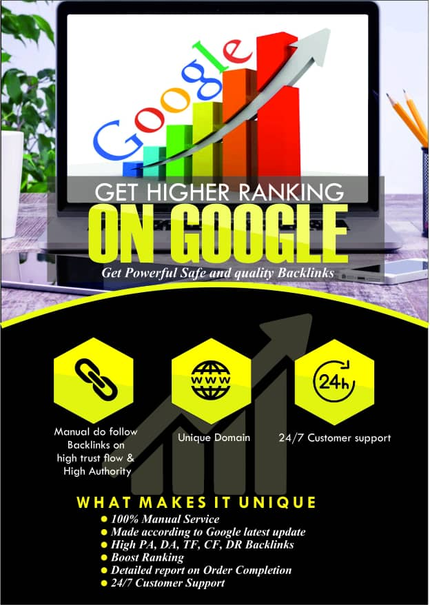 I Will Rank Your Website On Google With 80 High Authority Backlinks