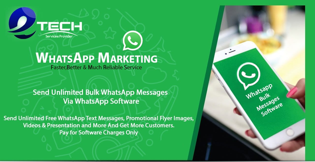 Whatsapp Marketing Software for promote your product and service