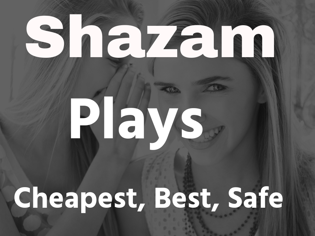 Shazam stream listener cheapest best quality services 1000