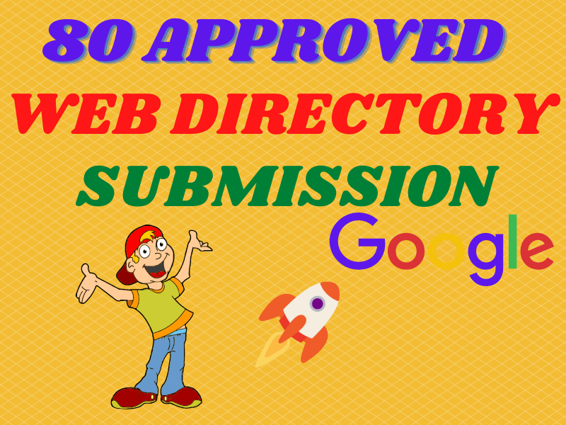 I will submit live 80 approved manual directory submissions