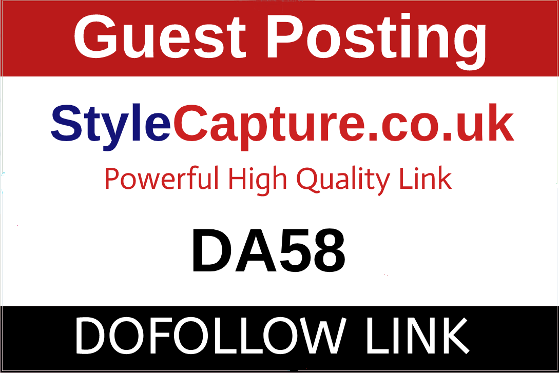 I will Guest Post On Style Capture,  StyleCapture. co. uk