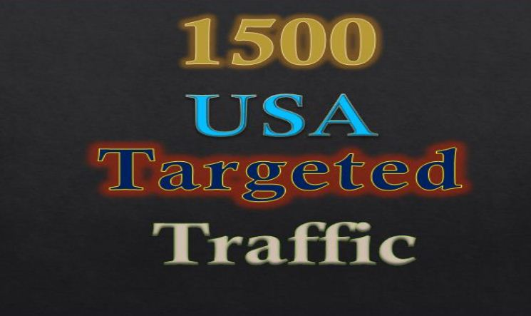 Provide Adsense safe 1500 USA Targeted Human Traffic to your web or Blog site