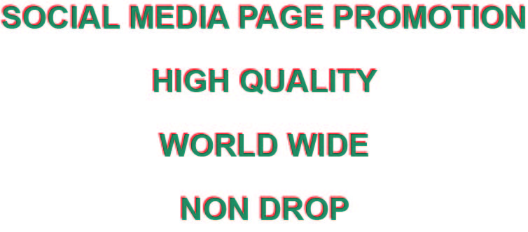Social Media Page Promotion within 1-3 days