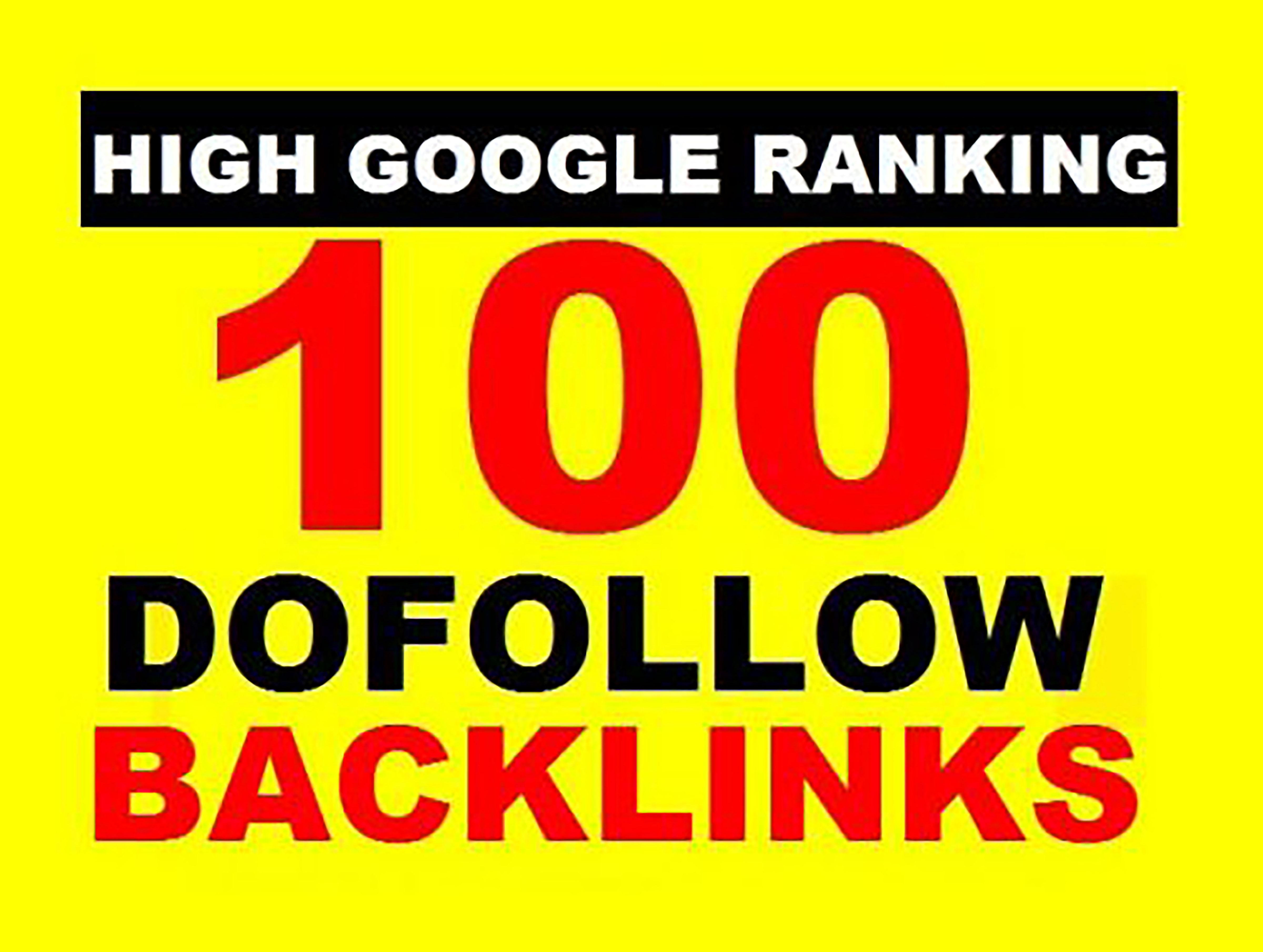 100+ Mix Platforms Do-Follow Backlinks