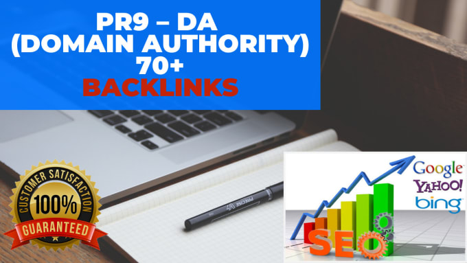 I will manually do 10 PR 9 DA 70+ high domain authority do-follow backlinks