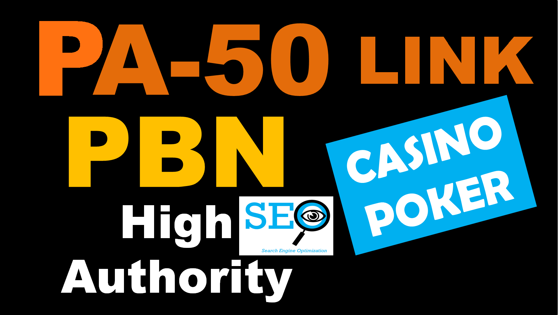 PBN PA 50 High Authority Backlinks for Casino Poker & Gambling Websites
