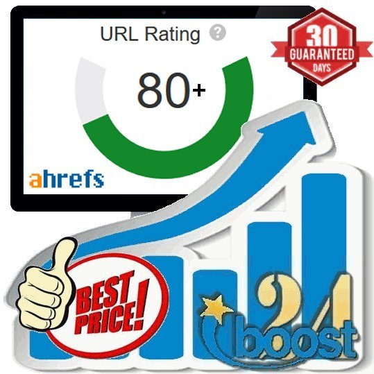 Increase your URL Rating to UR80+