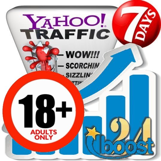 Adult Search Traffic from Yahoo XXX & 18+
